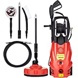 Trueshopping 2400W Pressure Washer Jet Power Patio Cleaner 165 Bar Pump 2392.5PSI+ Accessories
