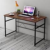 Cherry Tree Furniture Sleek Design Computer Desk Home Office Table W100 x D50 x H 72 cm (Walnut)
