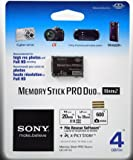 Sony 4Gb Memory Stick PRO Duo Mark 2 Card (No Adapter) - Retail Pack with Hologram