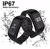 Fourfit Health Band Fitness Tracker. Blood Oxygen, Blood Pressure, Heart Rate, Sleep Tracking