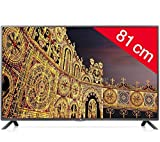 LG 32LB561B - LED Television - HD TV, 32 inches (80 cm) 16/9, 100Hz, with Cable (DVB-C), HDMI x2, USB 2.0 (EU Version)