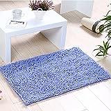 iado Bath Rugs, Bathroom Carpet Water Absorbent Non-Slip Shower Carpet Suitable for Living Room/Kitchen/Bedroom Indoor Outdoor Rugs Bathroom Mats