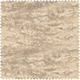 New Soft Rich Plush Crushed Velvet Fabric Ideal For Blinds Cushions Upholstery Curtains Sofas Furniture Cream Beige Gold Colour - Sold By The Meter