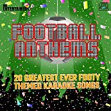 Mr Entertainer Karaoke FOOTBALL ANTHEMS CD+G (CDG) Disc. Greatest Footy Themed Songs Of All Time. Soccer/World Cup Party/England