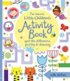 Little Children's Activity Book Spot the Difference, Puzzles and Drawing