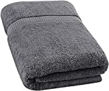 Utopia Towels Soft Cotton Machine Washable Extra Large (89 x 178 Centimeters) Bath Towel, Gray