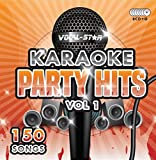 Karaoke Party Hits CDG CD+G Disc Set - 150 Songs on 8 Discs Including The Best Ever Karaoke Tracks Of All Time (Adele, Ed Sheeran, Coldplay, Abba, Beatles, Frank Sinatra, One Direction and much more) Supplied In PVC Case - From Vocal-Star Karaoke 2017