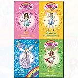 Rainbow Magic Series Storybook Fairies Vol (1-4) Daisy Meadows Collection 4 Books Bundle (Ruth the Red Riding Hood Fairy, Elle the Thumbelina Fairy, Rosalie the Rapunzel Fairy, Mariana the Goldilocks Fairy)