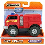 MATCHBOX FIRE RIG WITH LIGHT & SOUND TRUCK NEW