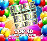 Vocal-Star Kids Party Chart Karaoke CDG CD+G Disc Set 40 Songs - 2 Discs