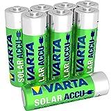 Varta AA Solar Garden Light ACCU Rechargeable Batteries Ni-Mh 800mAh - 8 pack