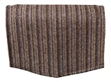 Classic Home Store Harris Tweed Single Chairback 100% Pure New Wool Settee Furniture Antimacassar (Basalt Stripe)