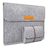 Inateck 13-13.3 Inch MacBook Air/Pro Retina/12.9 Inch iPad Pro Case Cover Sleeve Ultrabook Netbook Carrying Case Protector Bag, Grey