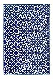 Fab Hab - San Juan - Dark Blue Indoor Outdoor Rug/Mat (120 cm x 180 cm)