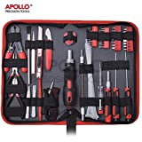 Apollo 73 Piece Professional IT, Computer, Smart Phone & Electronics Maintenance, Repair & Cleaning Tool Kit - Extra Long Precision Screwdrivers, Flexible Extension Rod & more in Zipper Storage Case