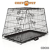 Cozy Pet Deluxe Car Dog Cage, Generic Model Fits Most Makes Including Audi, BMW, Citroen, Fiat, Ford, Honda, Hyundai, Jaguar, Kia, Range Rover, Mercedes-Benz, Mini, Nissan, Peugeot, Renault, Seat, Skoda, Toyota, Vauxhall, Volkswagen, Volvo, Etc Puppy Crate. Model: CDC03