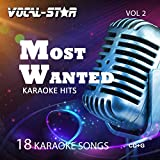 Vocal-Star Most Wanted Vol 2 Karaoke CDG CD+G Disc Set - 18 Songs Including Adele Abba Coldplay Ed Sheeran Katy Perry Little Mix Madonna Bon Jovi