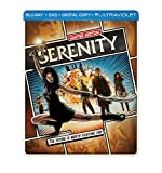 Serenity Limited Edition Steelbook (Blu-Ray/DVD) Combo Nathan Fillion