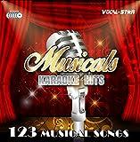 Vocal-Star Karaoke ' Musicals Hits ' CDG Disc Set 123 Songs on 6 CD+G Diiscs