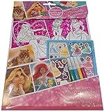 Disney Princess Foil Colouring Set, Pink