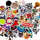 Stickers 200-Pcs 100 color stickers 60 black white stickers and 40 constellation stickers for Laptop Macbook Skateboard Snowboard Luggage Suitcase iPhone Car Bike Bumper waterproof Stickers